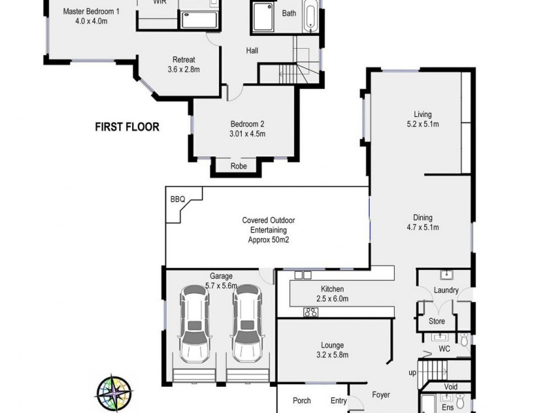 3 Enderby Place, Barden Ridge NSW 2234 Floorplan
