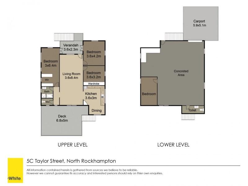 5C Taylor Street, Park Avenue QLD 4701 Floorplan