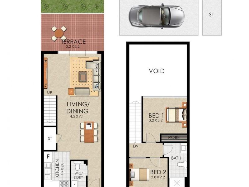 110/438-448 Anzac Parade, Kingsford NSW 2032 Floorplan