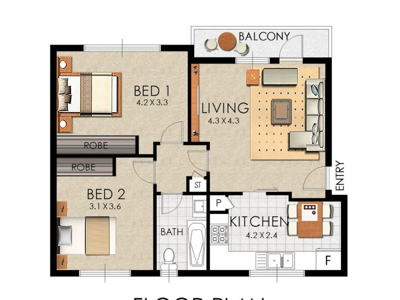6/837 Anzac Parade, Maroubra NSW 2035 Floorplan