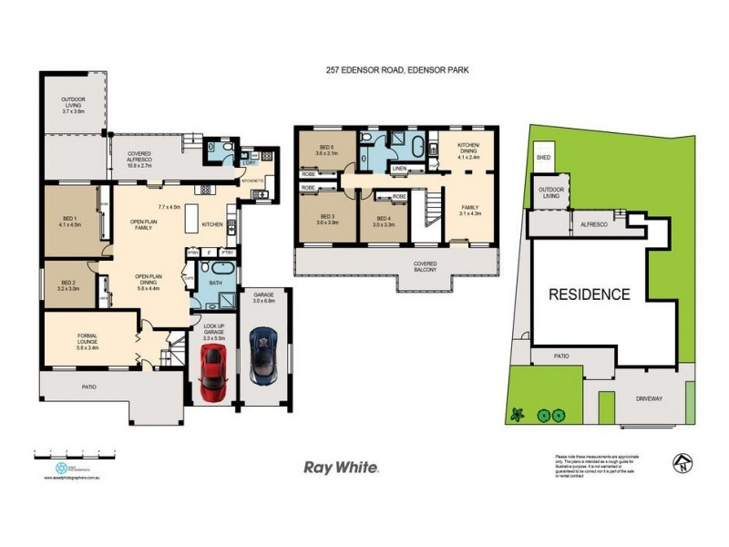 257 Edensor Road, Edensor Park NSW 2176 Floorplan