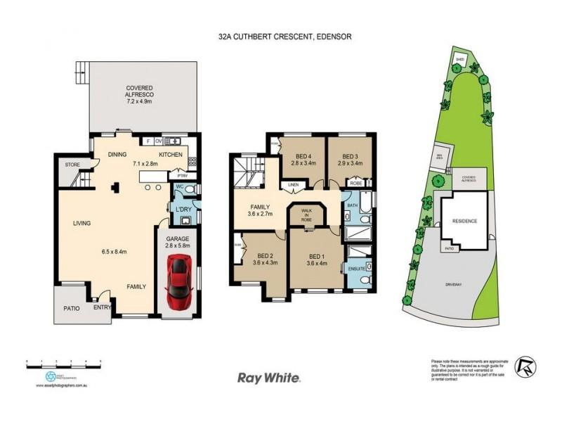 32a Cuthbert Crescent, Edensor Park NSW 2176 Floorplan