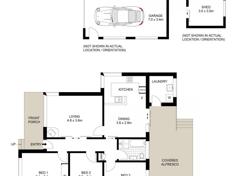 7 Oak Street, Albion Park Rail NSW 2527 Floorplan