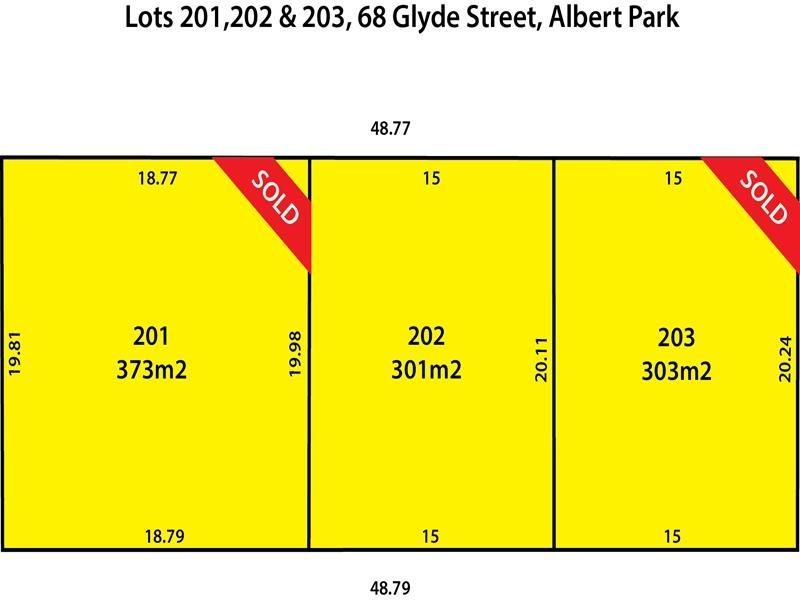 Lots 1, 2 and 3 68 Glyde Street, Albert Park SA 5014