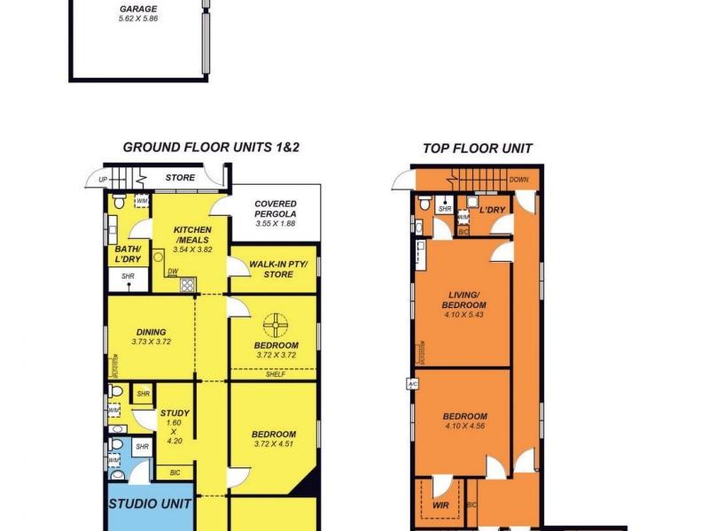 161 Esplanade, Henley Beach SA 5022 Floorplan