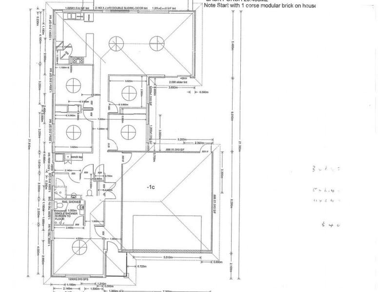 9 Fitzgerald Cove, Port Denison WA 6525 Floorplan