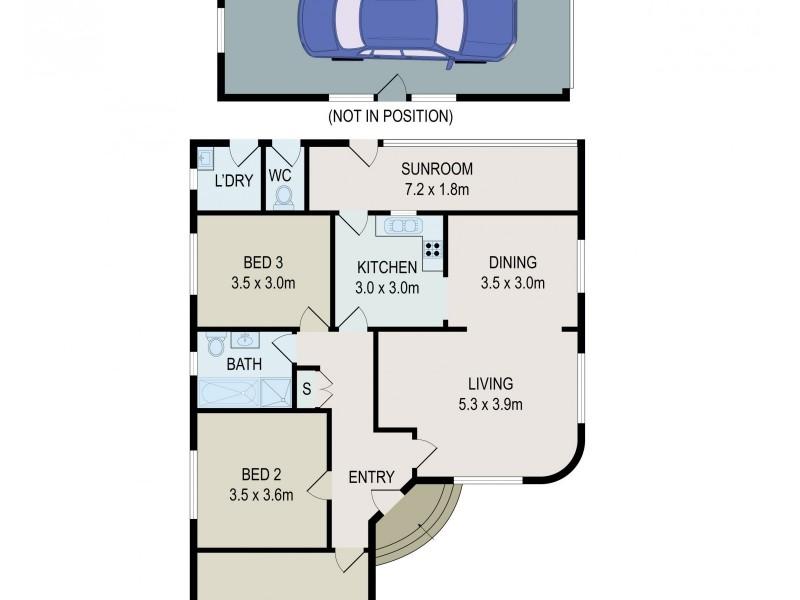 287 Roberts Road, Greenacre NSW 2190 Floorplan