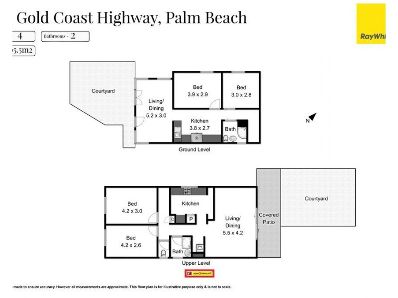 1474 Gold Coast Highway, Palm Beach QLD 4221 Floorplan