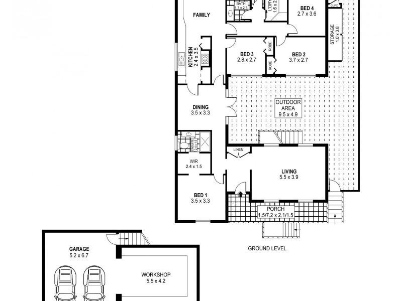 22 Foothills Road, Austinmer NSW 2515 Floorplan