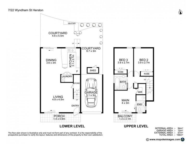 7/22 Wyndham Street, Herston QLD 4006 Floorplan