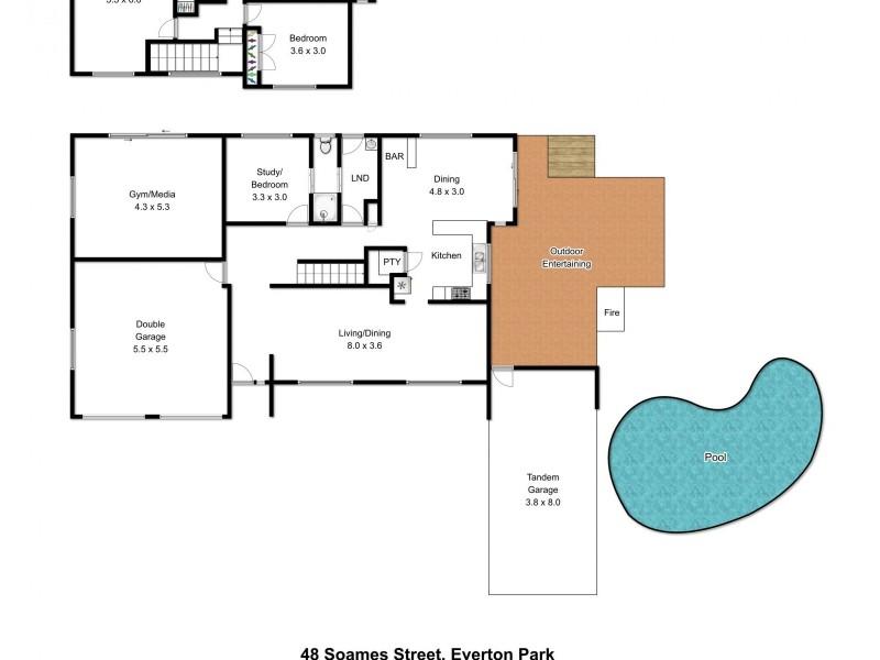 48 Soames Street, Everton Park QLD 4053 Floorplan