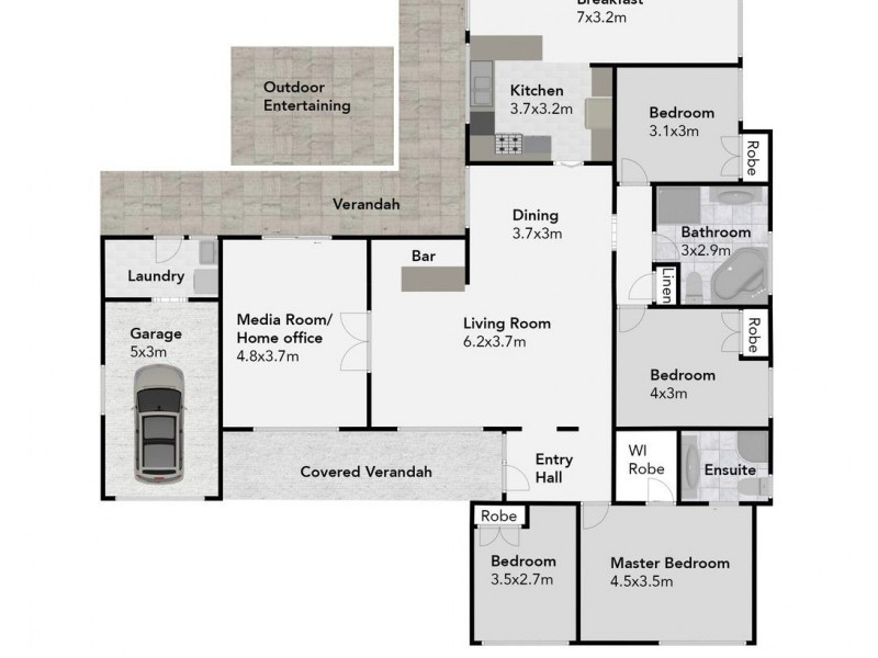 12 First Street, Blackheath NSW 2785 Floorplan