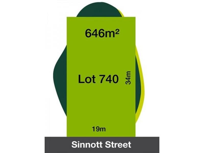 Lot Lot 740, 3 Sinnott Street, Doreen VIC 3754