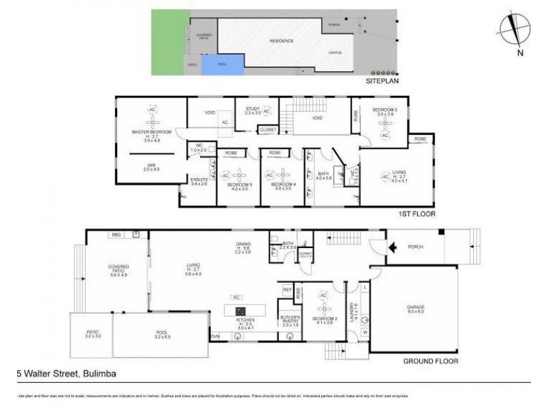 15 Walter Street, Bulimba QLD 4171 Floorplan