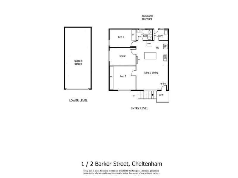 1/2 Barker Street, Cheltenham VIC 3192