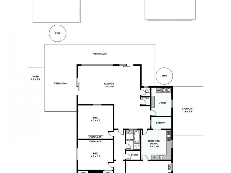 37 Government Road, Spalding SA 5454 Floorplan