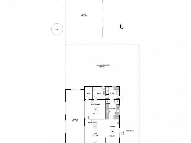 51 Ashby Road, Armagh SA 5453 Floorplan