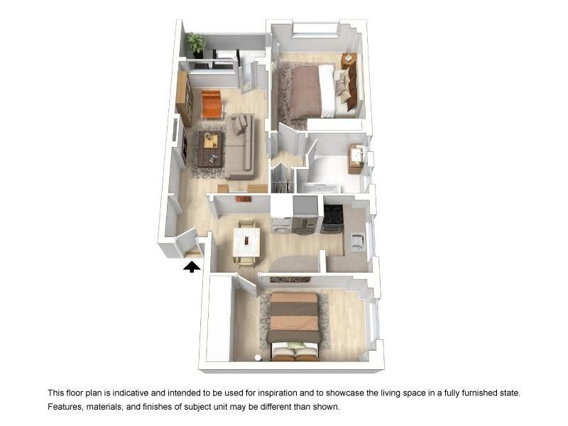 1/35 Birriga Road, Bellevue Hill NSW 2023 Floorplan