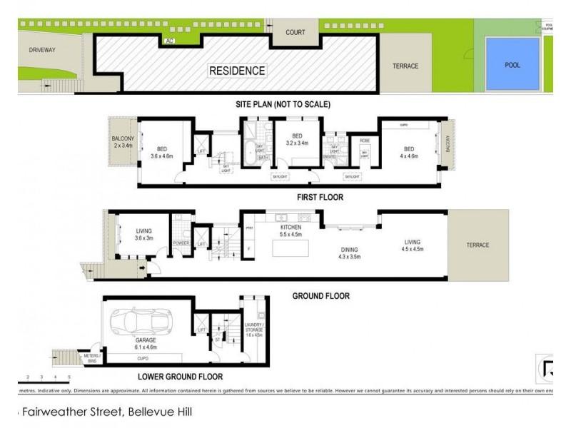17B Fairweather Street, Bellevue Hill NSW 2023 Floorplan