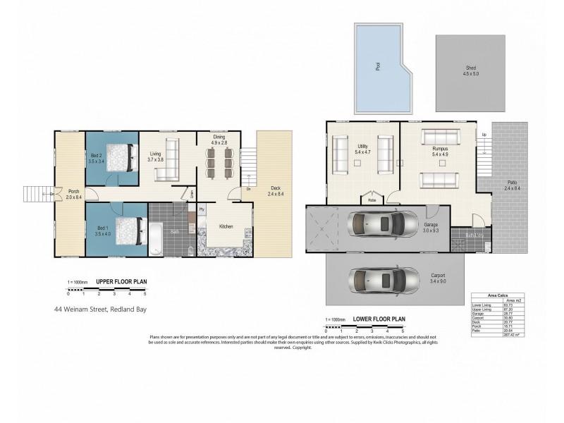 44 Weinam Street, Redland Bay QLD 4165 Floorplan