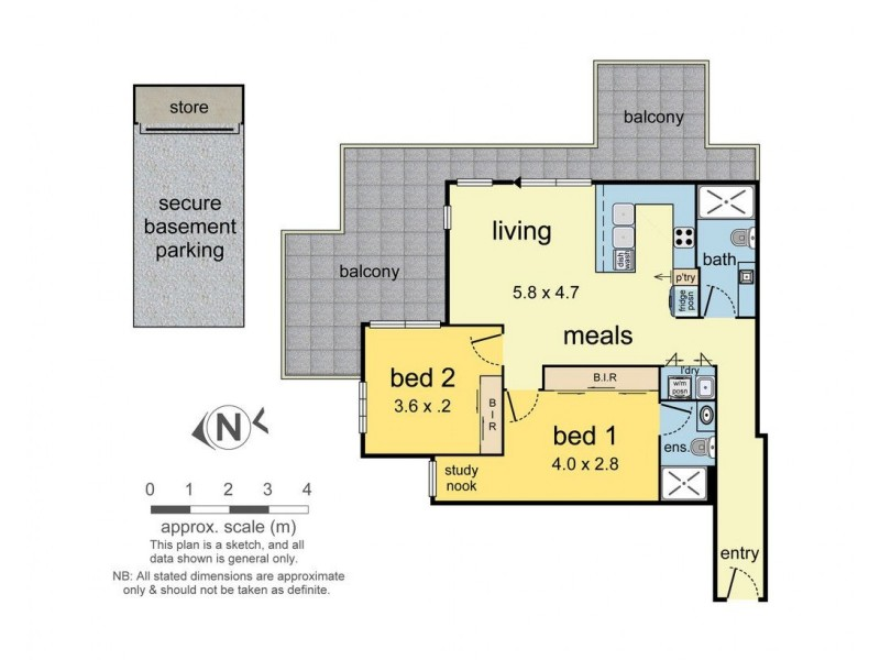 202/29-33 Loranne Street, Bentleigh VIC 3204 Floorplan