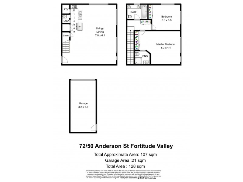 Unit 72/50 Anderson Street, Fortitude Valley QLD 4006 Floorplan