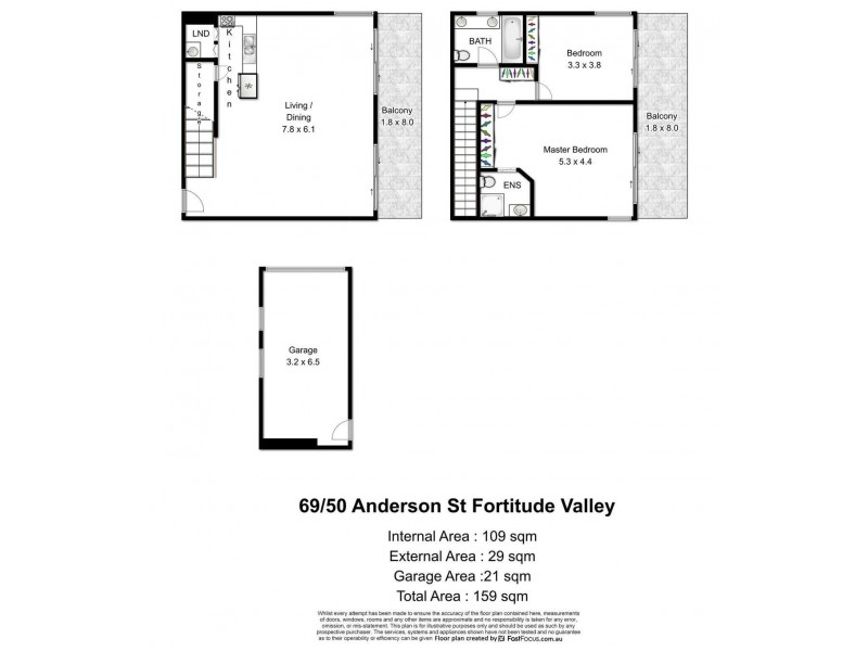 Unit 69/50 Anderson Street, Fortitude Valley QLD 4006 Floorplan