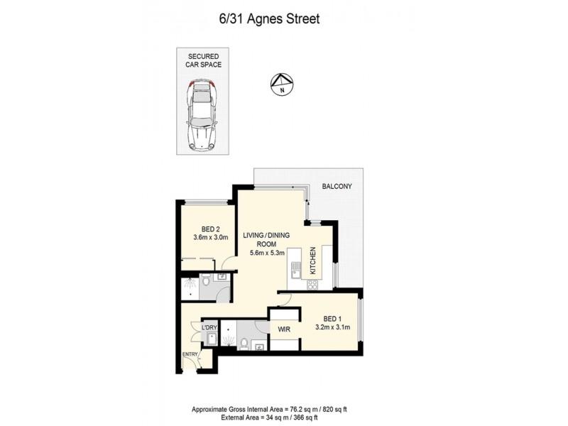 Albion QLD 4010 Floorplan