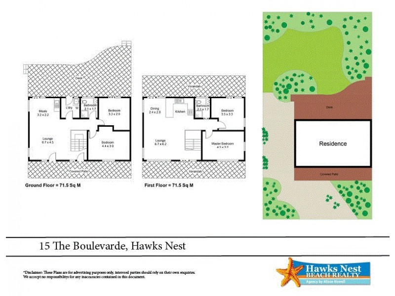 15 The Boulevarde, Hawks Nest NSW 2324 Floorplan