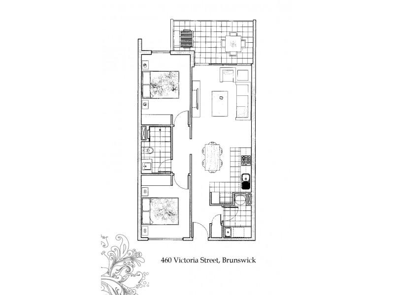C209/460 Victoria Street, Brunswick VIC 3056 Floorplan