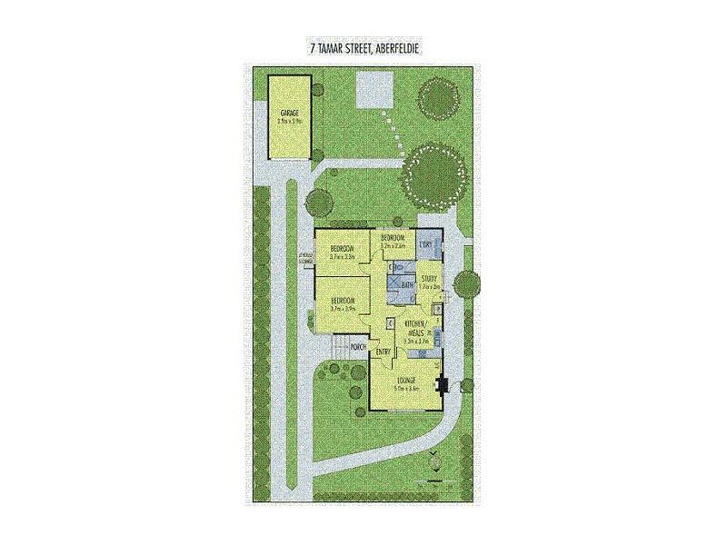 7 Tamar Street, Aberfeldie VIC 3040 Floorplan
