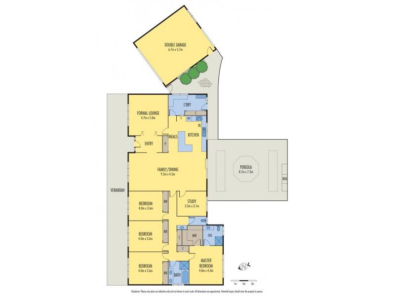 9 Evan Court, Keilor VIC 3036 Floorplan