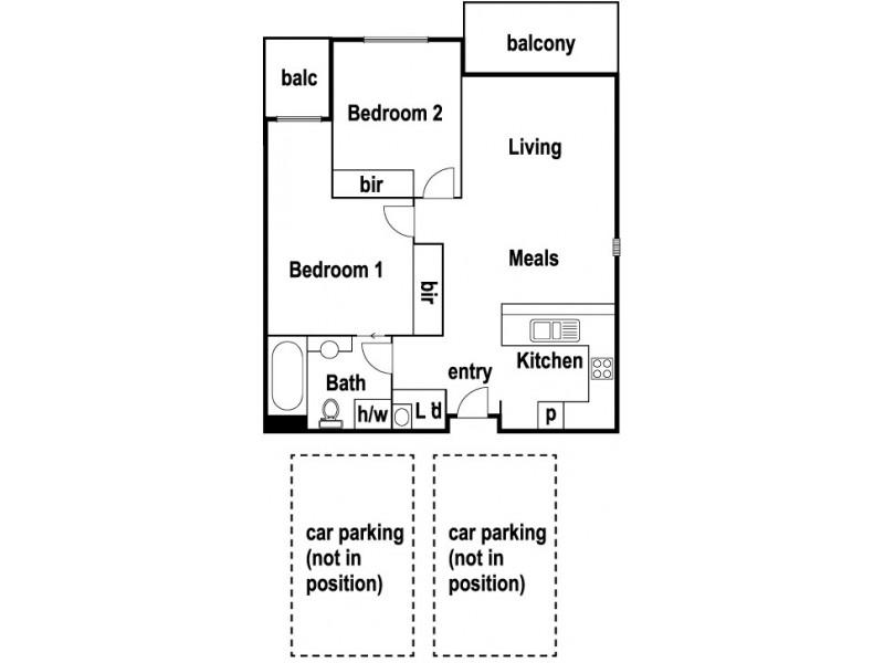303/77 Village Way, Maribyrnong VIC 3032 Floorplan