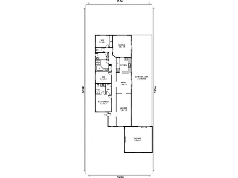 59 Carroll Street, Deer Park VIC 3023 Floorplan