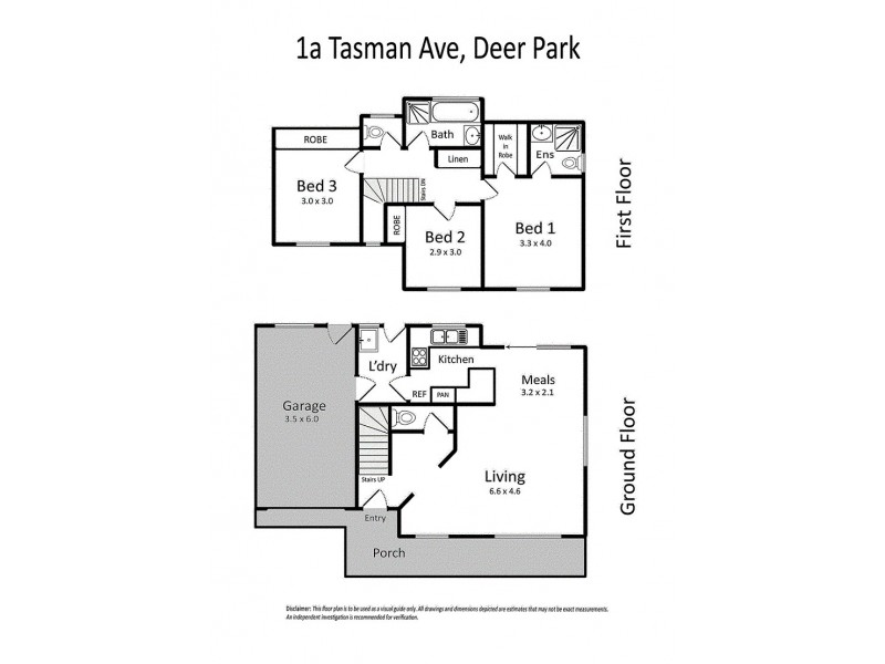 1A Tasman Avenue, Deer Park VIC 3023 Floorplan