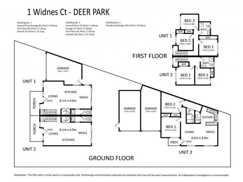 1 Widnes Court, Deer Park VIC 3023 Floorplan