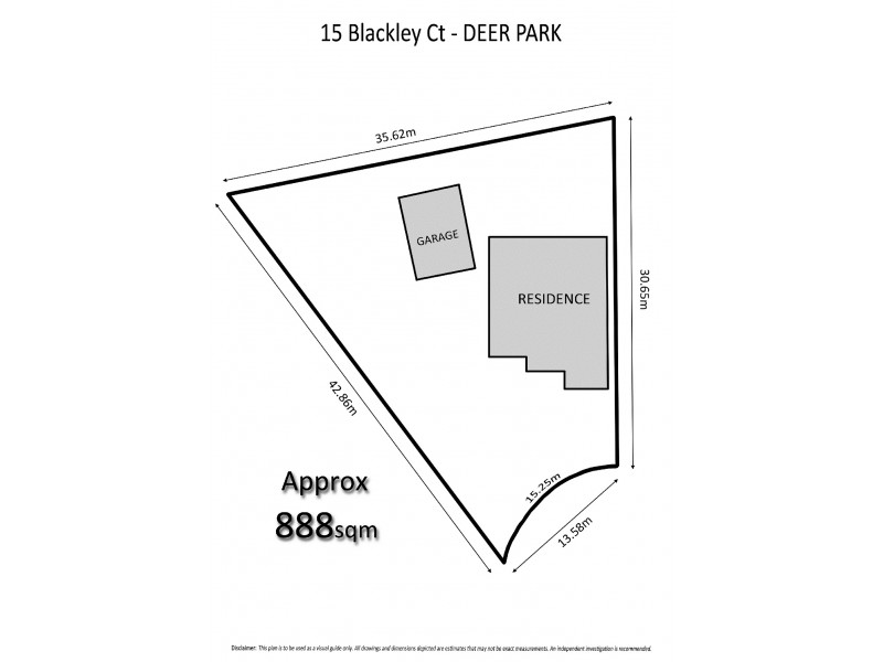 15 Blackley Court, Deer Park VIC 3023 Floorplan