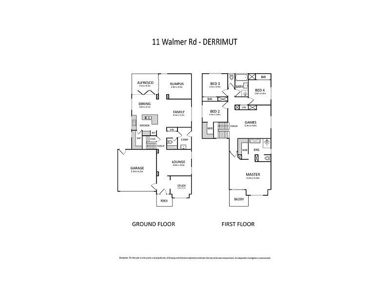 11 Walmer Road, Derrimut VIC 3030 Floorplan