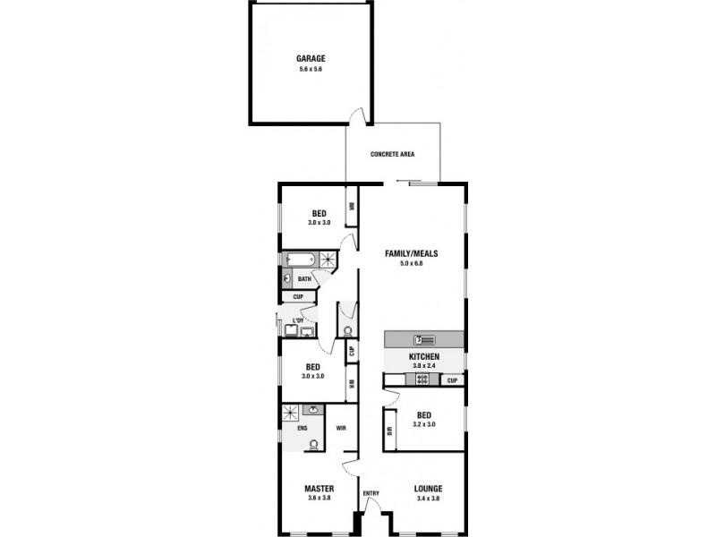 12 Leeds Walkway, Derrimut VIC 3030 Floorplan