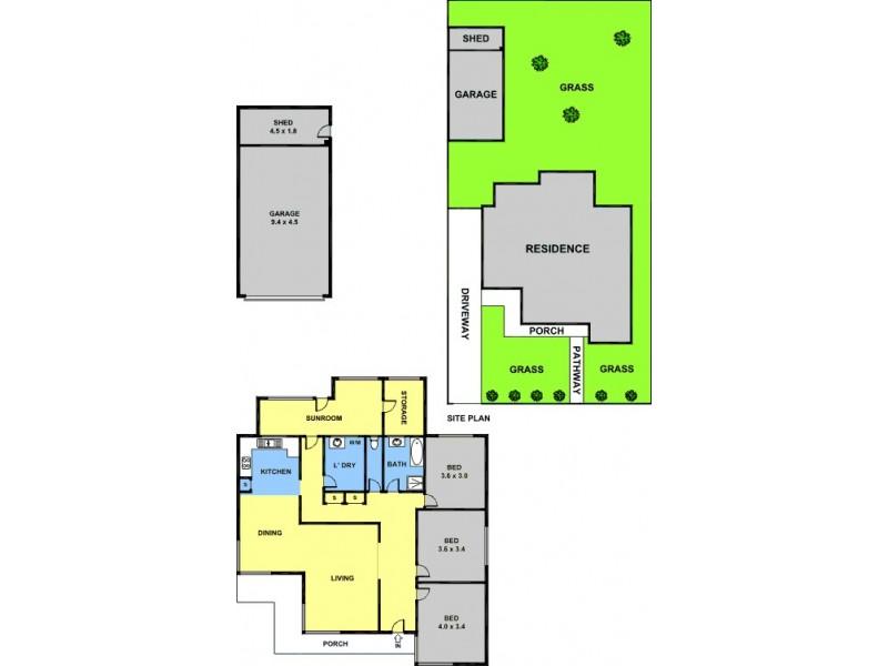 31 Pitt Street, Fawkner VIC 3060 Floorplan
