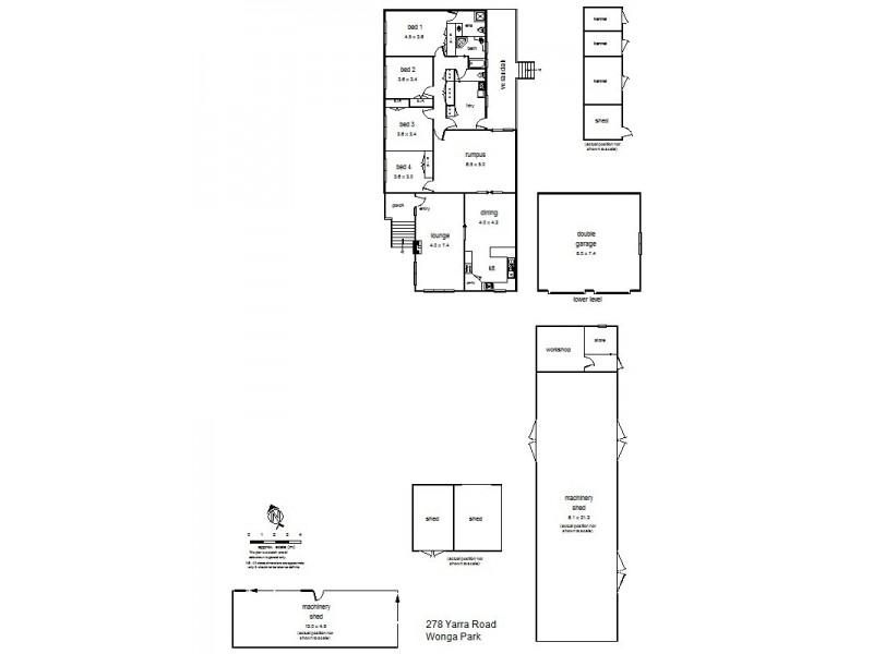 278 Yarra Road, Wonga Park VIC 3115 Floorplan
