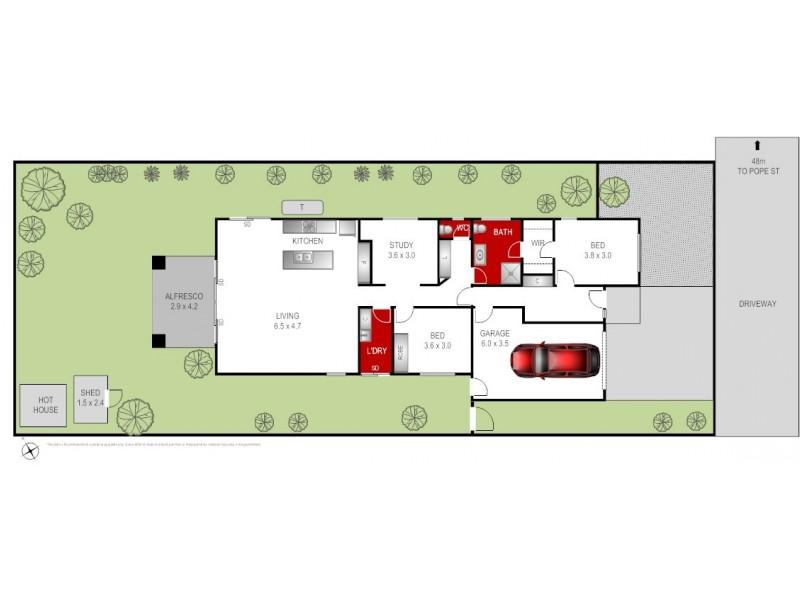 15B Pope Street, Bannockburn VIC 3331 Floorplan