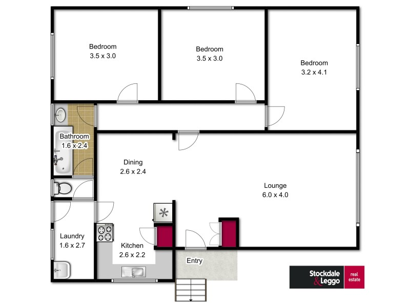 9 Cedar Court, Churchill VIC 3842 Floorplan