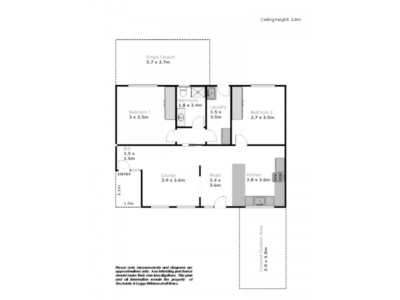 37 Eulinga Drive, Mildura VIC 3500 Floorplan