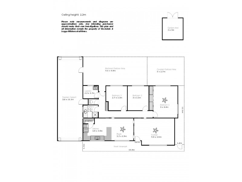 39 Neilpo Street, Dareton NSW 2717 Floorplan