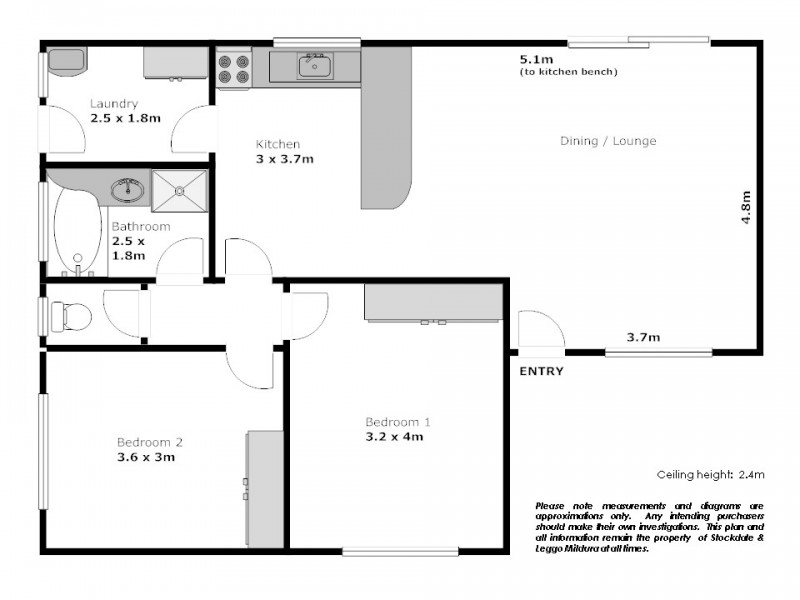 1-4/17 Sarnia Avenue, Mildura VIC 3500 Floorplan
