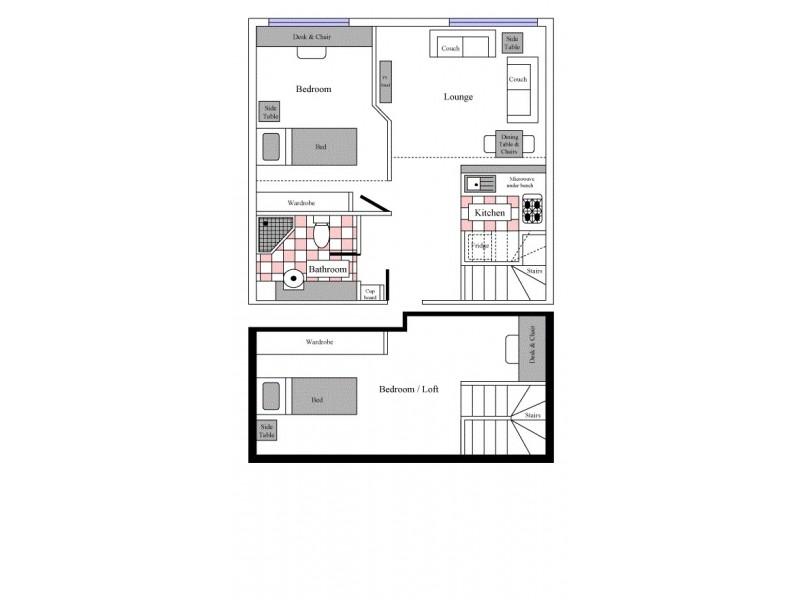 1001/570 Lygon Street, Carlton VIC 3053 Floorplan