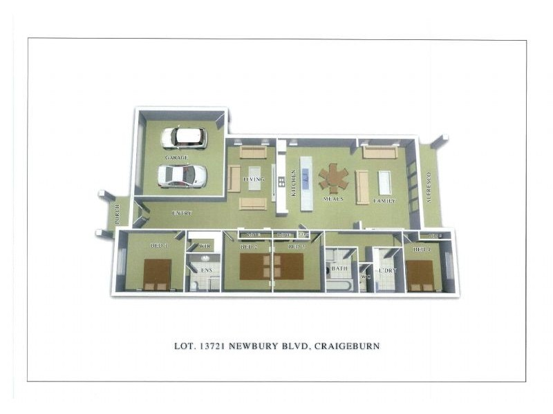 Lot 13721 Newbury Boulevard, Craigieburn VIC 3064