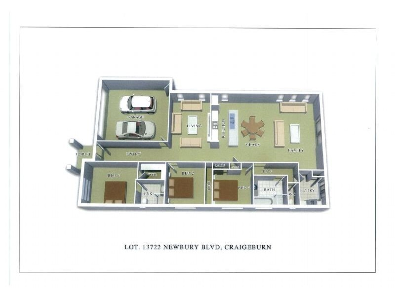 Lot 13722 Newbury Boulevard, Craigieburn VIC 3064