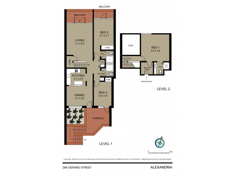28a Gerard Street, Alexandria NSW 2015 Floorplan